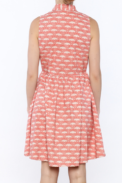 Mata Traders Coral Button-Down Dress - Alternate List Image