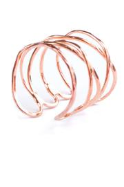 Mata Traders Cage Cuff: Copper - Product Mini Image