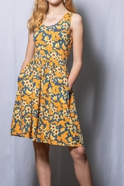 Mata Traders Floral Fit And Flare - Front full body