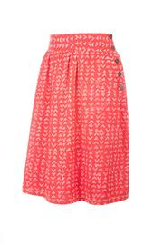 Mata Traders High-Waisted Red Skirt - Product Mini Image