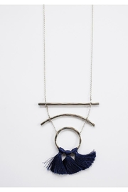 Mata Traders Moonbeam Tassel Necklace - Front cropped