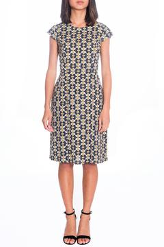 Shoptiques Product: Patterned Flare Dress