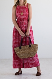Mata Traders Red Print Maxi - Product Mini Image