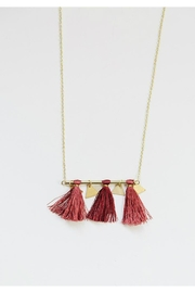 Mata Traders Tassel Bar Necklace - Product Mini Image