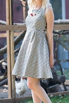 Shoptiques Product: Vignette Gingham Dress