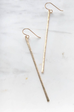 Token Jewelry Matchstick Earrings - Product List Image