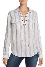Rails Matea Lace-Up Top - Product Mini Image