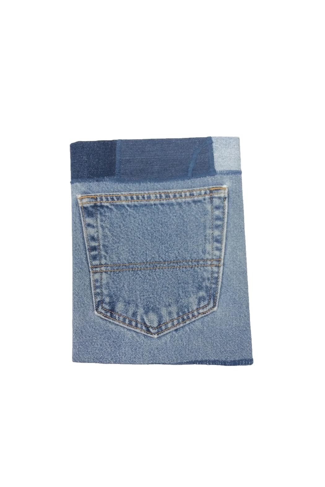 Material Rebellion Jean Pocket Journals - Front Cropped Image