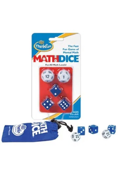ThinkFun Math Dice - Alternate List Image