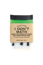 WHISKEY RIVER SOAP CO. Math Soap - Product Mini Image