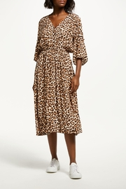 Just Female Mathieu Leapard Dress - Front cropped