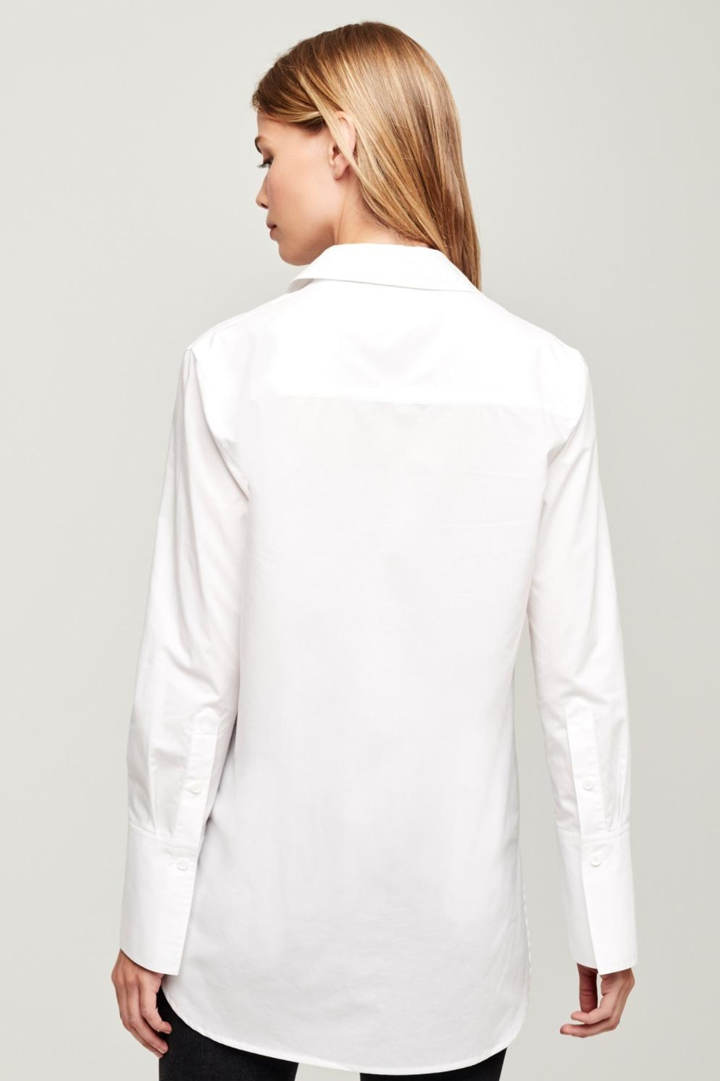 L'Agence Mathis Tunic Blouse - Side Cropped Image