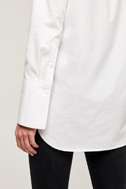 L'Agence Mathis Tunic Blouse - Back cropped