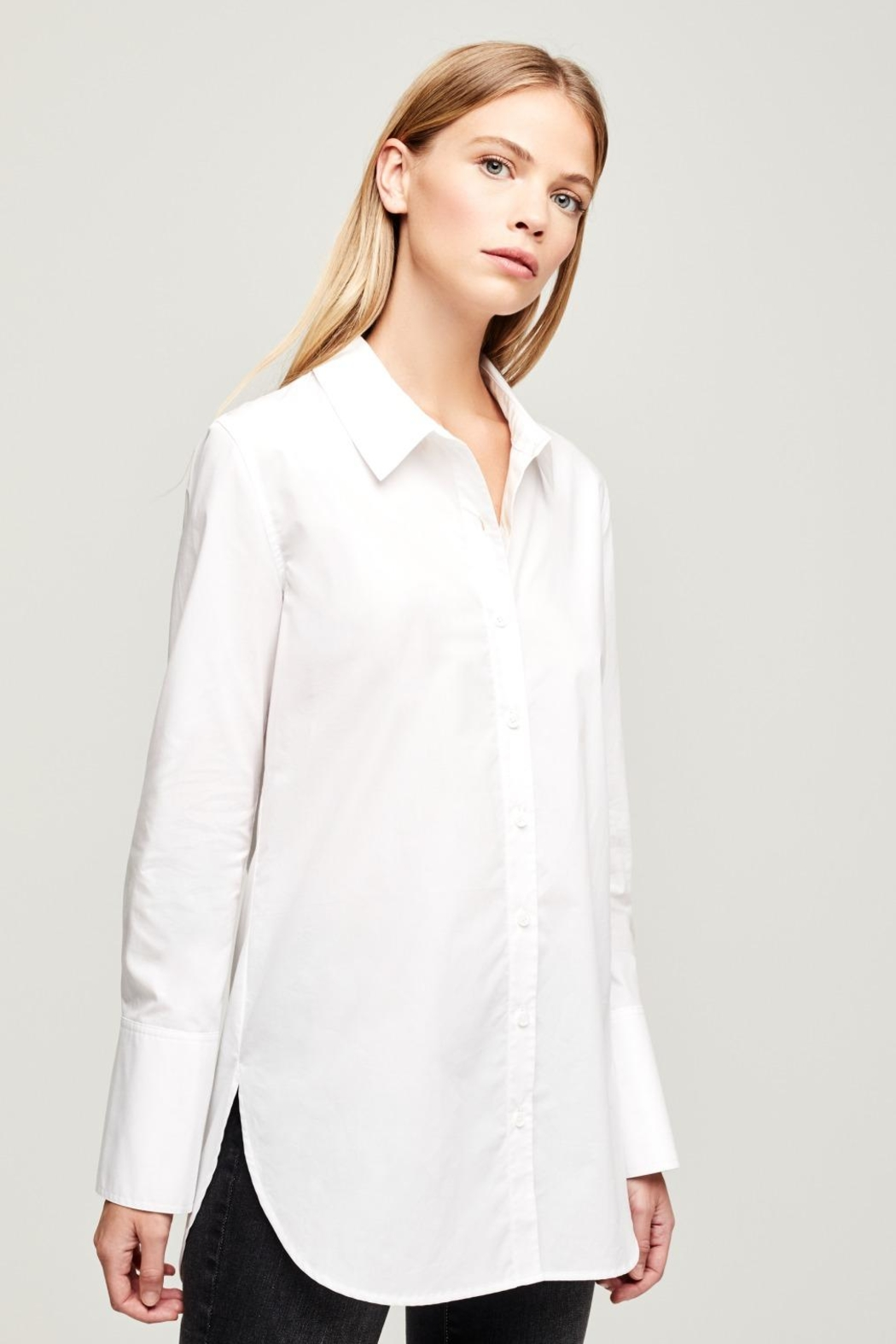 L'Agence Mathis Tunic Blouse - Front Full Image