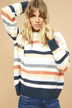 Shoptiques Product: Matilda Stripe Sweater