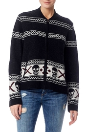 Skull Cashmere Matilda Zip Sweater - Product Mini Image