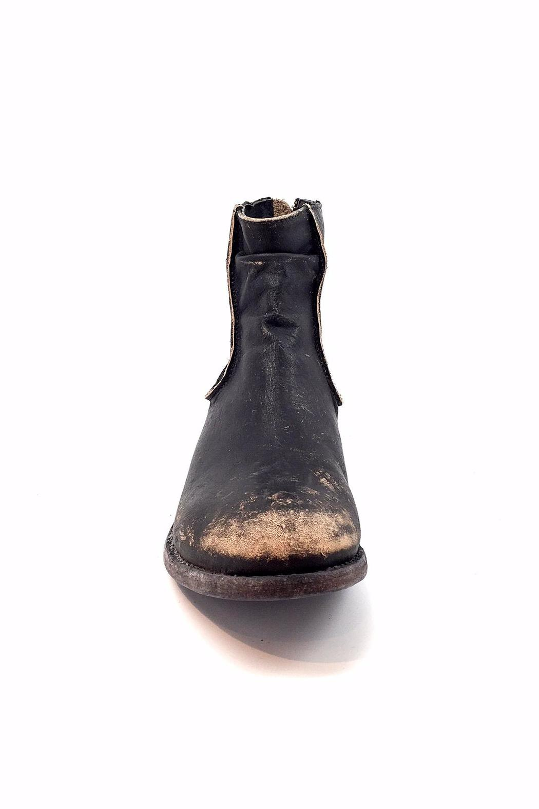 Matisse Black Distressed Boot - Side Cropped Image