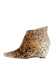 Matisse Heeled Leopard Bootie - Product Mini Image