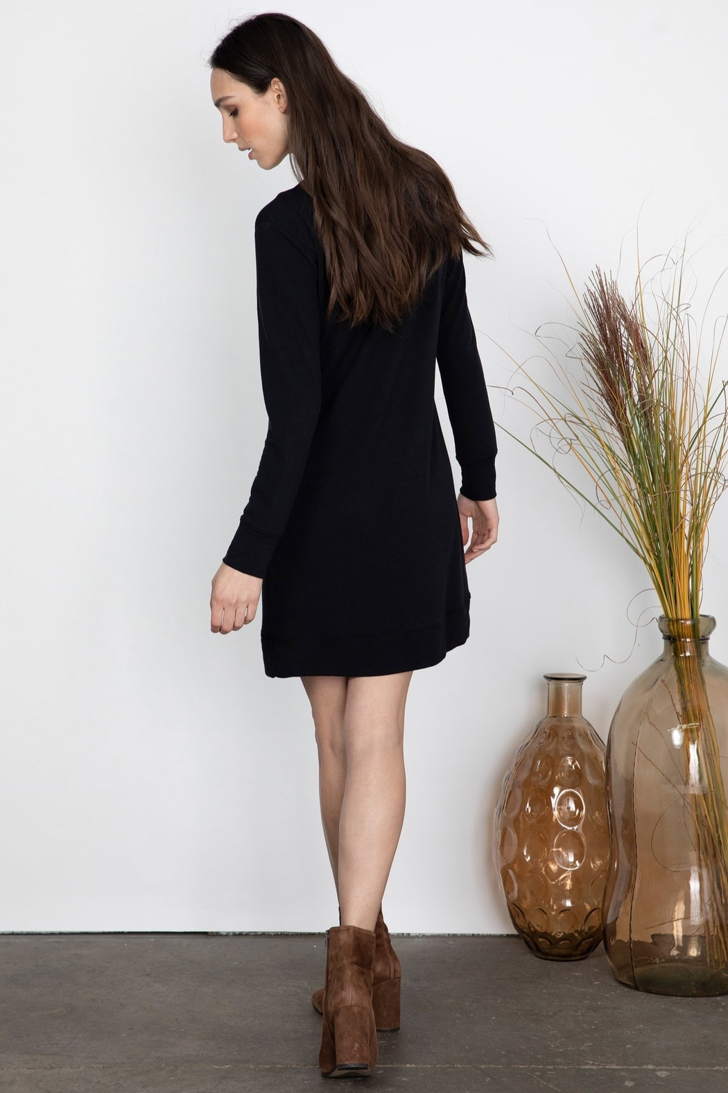Gentle Fawn Matisse Sweater Dress - Side Cropped Image