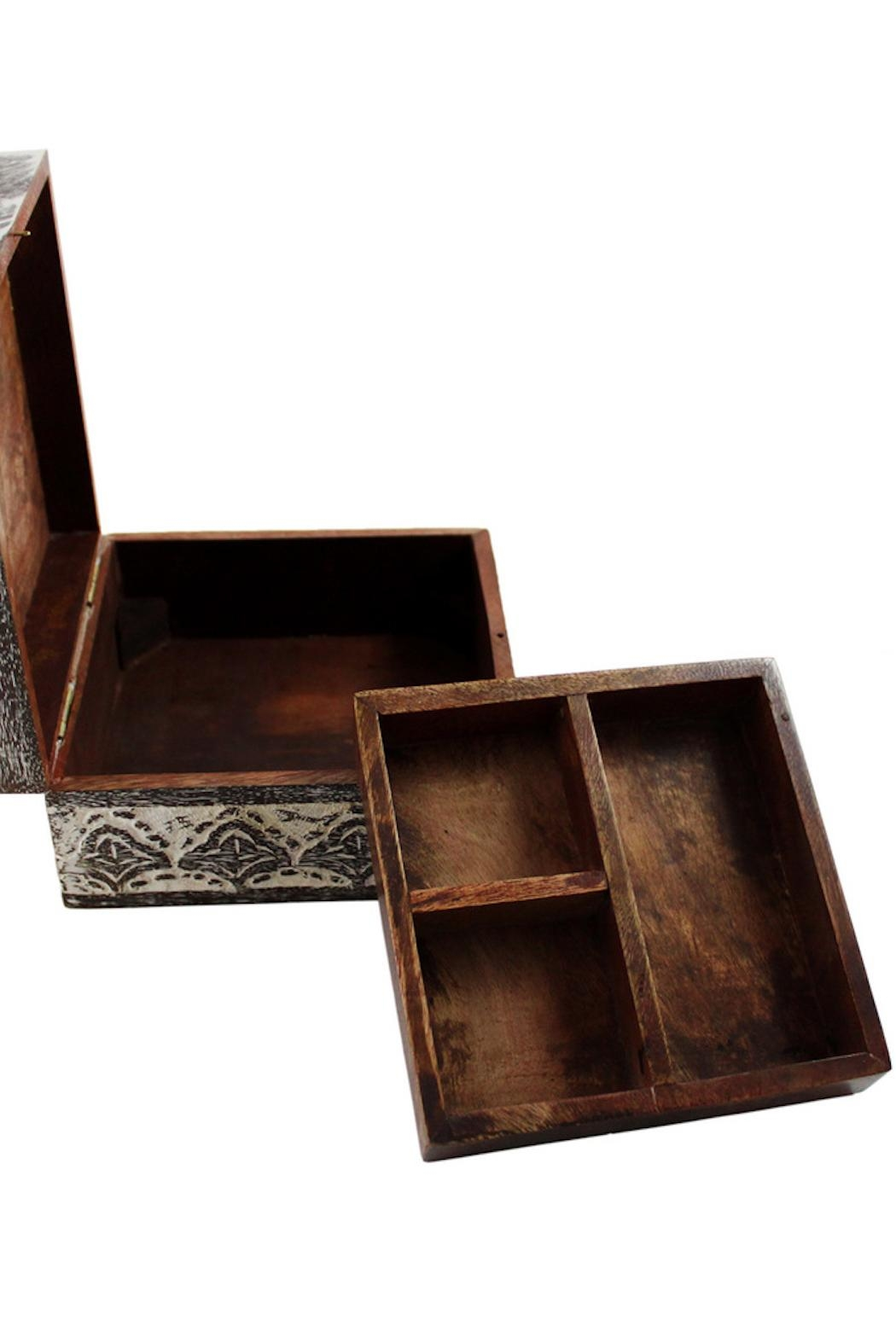 Matr Boomie Antique-Finish Jewelry Box - Side Cropped Image
