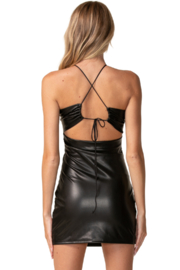 sky to moon Matrix Leather Dress - Other