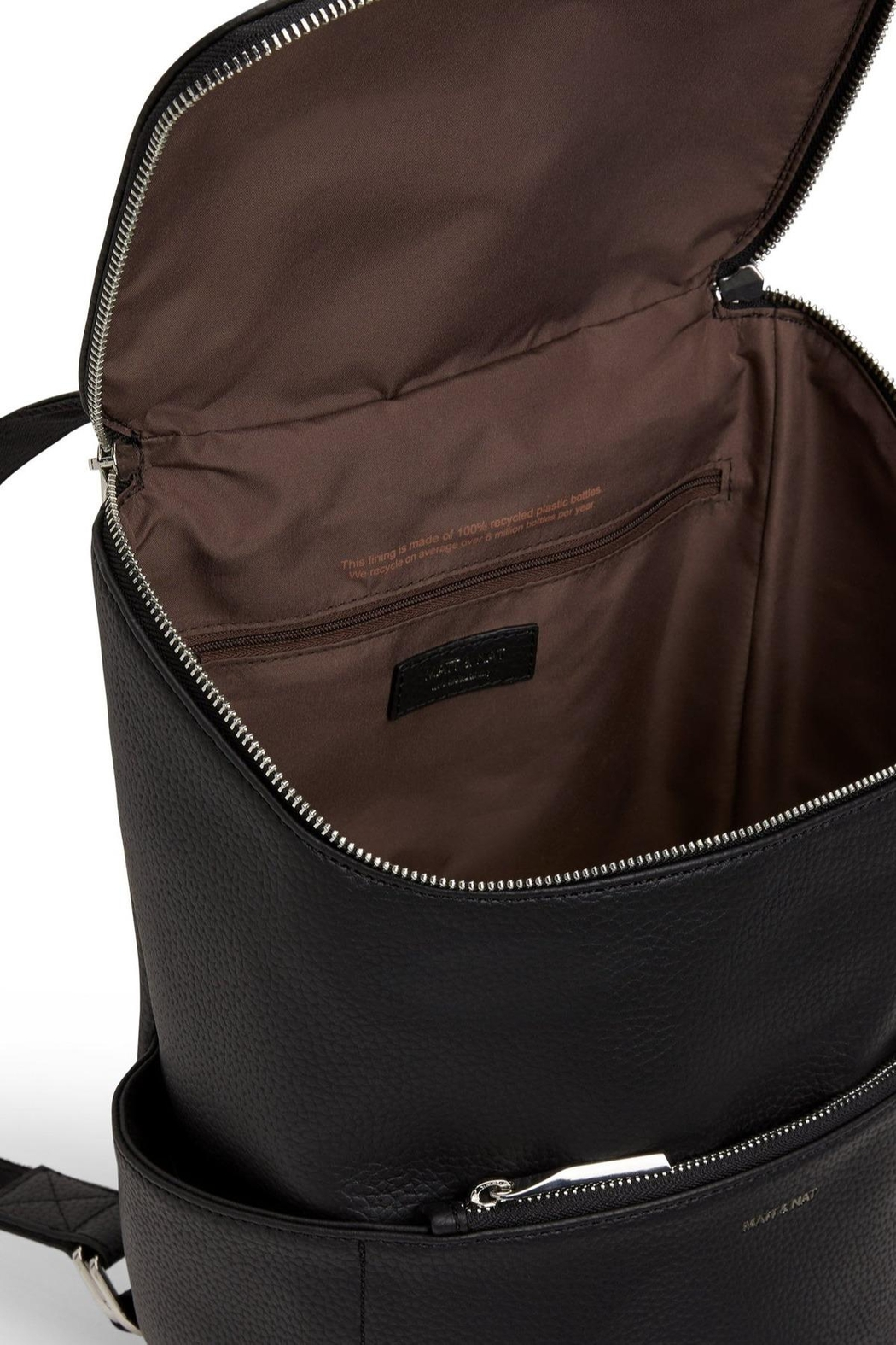 Matt & Nat Brave Backpack - Purity Collection - Front Full Image
