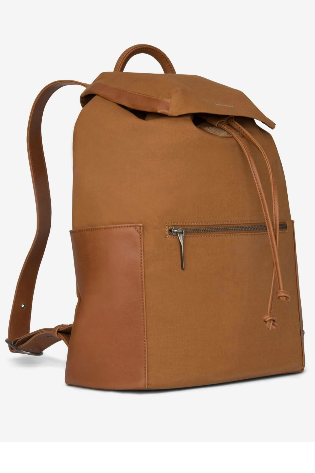 Matt & Nat Greco Canvas Backpack - Front Full Image