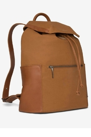 Matt & Nat Greco Canvas Backpack - Front full body