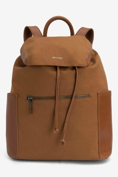 Matt & Nat Greco Canvas Backpack - Product List Image