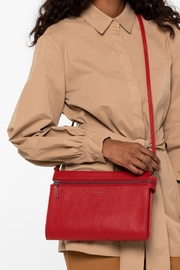 Matt & Nat Red Arta Clutch - Product Mini Image