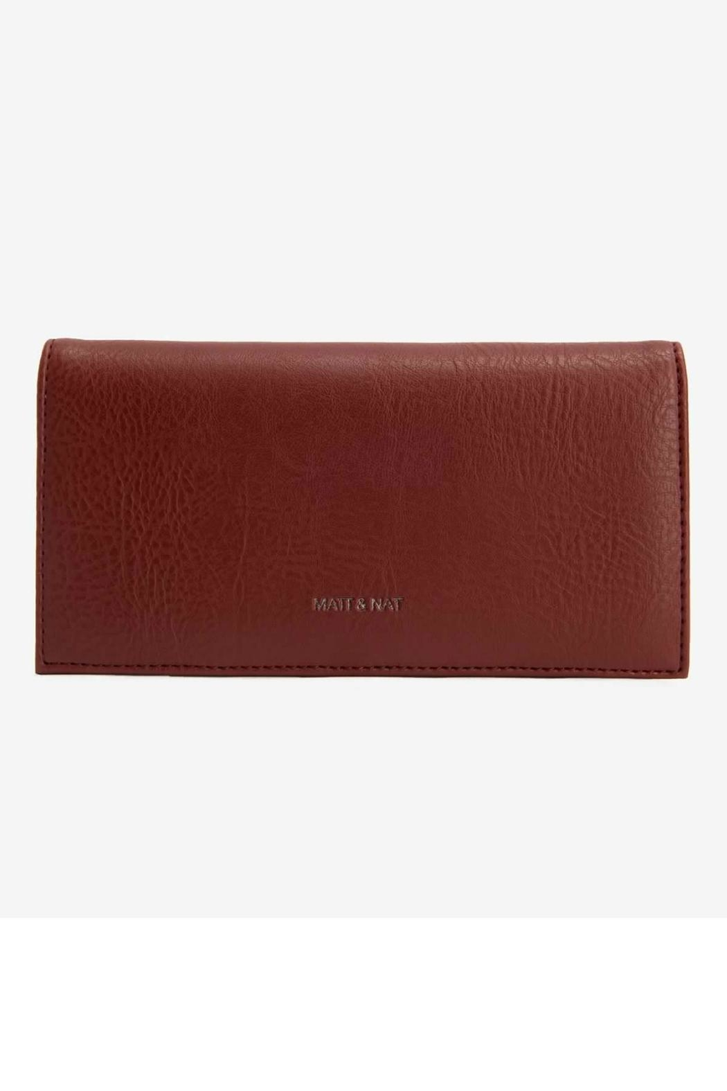 Matt & Nat Reid Dwell Wallet - Front Cropped Image