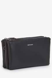 Matt & Nat Triplet Loom Wallet - Front full body