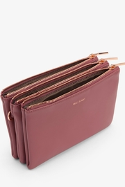 Matt & Nat Triplet Loom Wallet - Side cropped