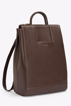 Shoptiques Product: Vegan Leather Backpack