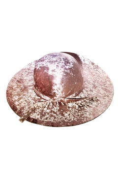 Shoptiques Product: La-Vie-En-Rose Velour Hat