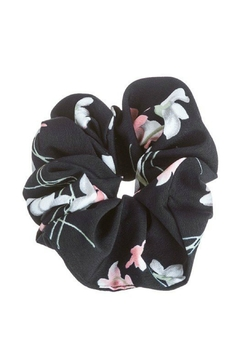 AL Boutique Matte Floral Scrunchie - Product List Image