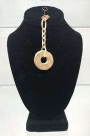 Customrags Matte gold disc talisman - Product Mini Image