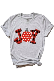 Matty and Lux Christmas Joy Tee - Front cropped