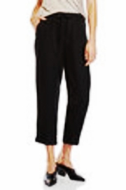 Matty M Crop Linen Pant - Product Mini Image