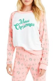 Wildfox Maui Christmas Fiona-Crew - Front cropped