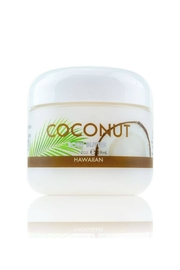 Maui Soap Company Maui Coconut Body Butter w Aloe, Mac Nut & Coconut Oil - Product Mini Image
