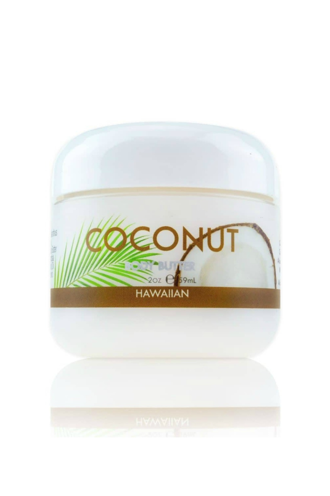 Maui Soap Company Maui Coconut Body Butter w Aloe, Mac Nut & Coconut Oil - Front Cropped Image