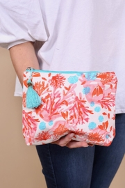 Caroline Hill Maui Cosmetic Pouch - Product Mini Image