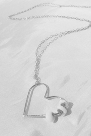 Maui Ocean Jewelry Maui Love Puka Necklace - Long Sterling Silver - Product Mini Image