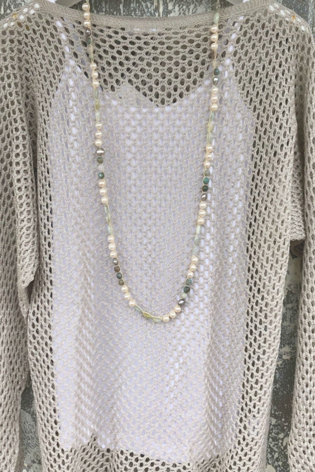 An Old Soul Jewelry Maui Ocean Neclace - Front Full Image