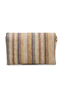 Urban Expressions Maui Straw Clutch - Product List Image