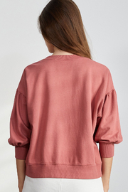 Velvet by Graham & Spencer  Maureen Pullover - Cranapple - Side cropped