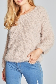 POL Mauve Alpaca Sweater - Product Mini Image