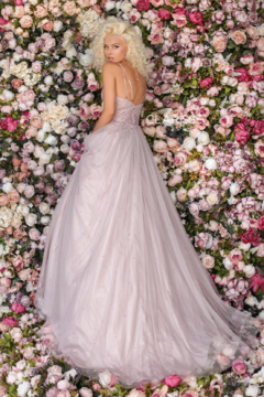 CLARISSE Mauve Ballgown - Alternate List Image
