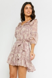 Olivaceous  Mauve Beauty - Front full body